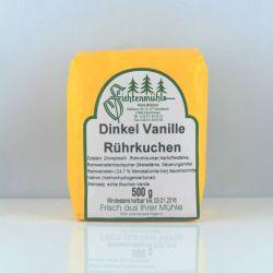Dinkel Vanille Rührkuchen