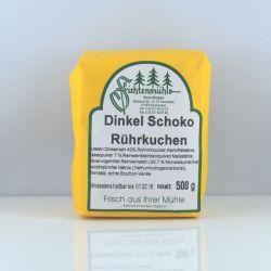 Dinkel Schoko Rührkuchen