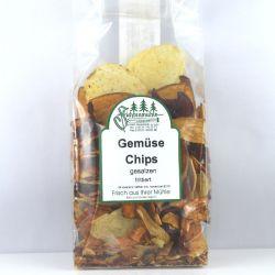 Gemüse Chips gesalzen